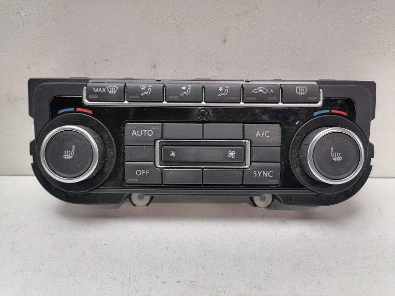 Блок управления климат-контролем Volkswagen Tiguan 2.0 TDI 2012 (б/у)