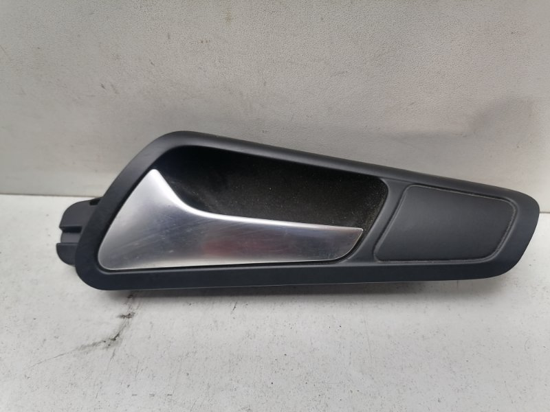 Ручка двери внутренняя Volkswagen Passat B6 2.0 TDI передняя левая (б/у)