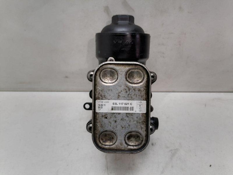 Корпус масляного фильтра Volkswagen Caravella T5 2.0 TDI 2013 (б/у)