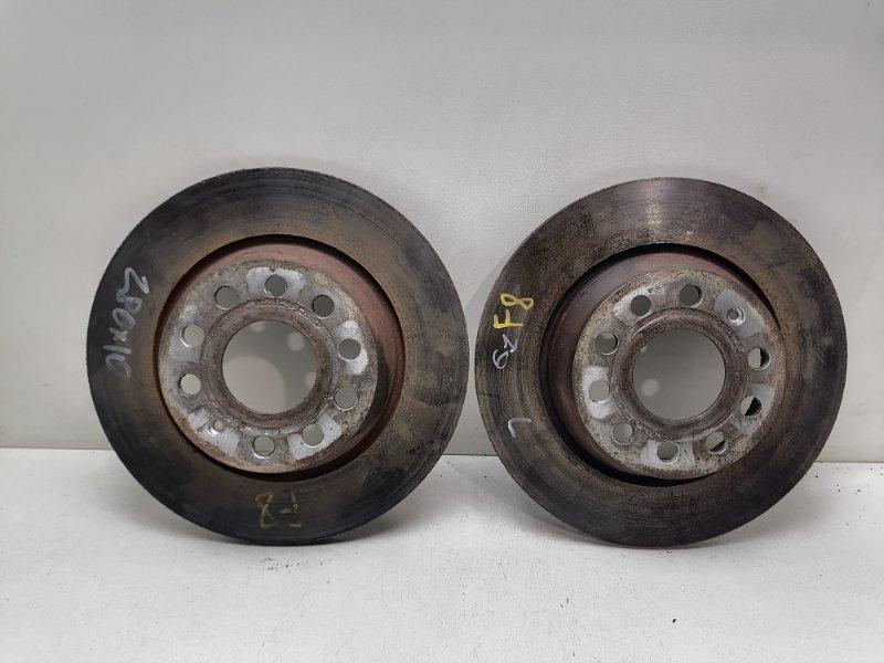 Диски тормозные Volkswagen Tiguan 2.0 TDI задние (б/у)
