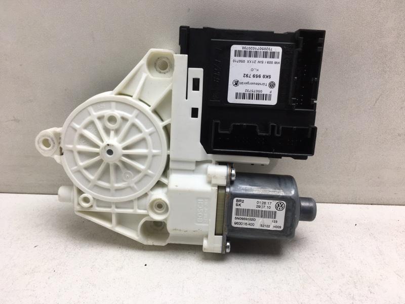 Мотор стеклоподъемника Volkswagen Tiguan 2.0 TDI передний правый (б/у)