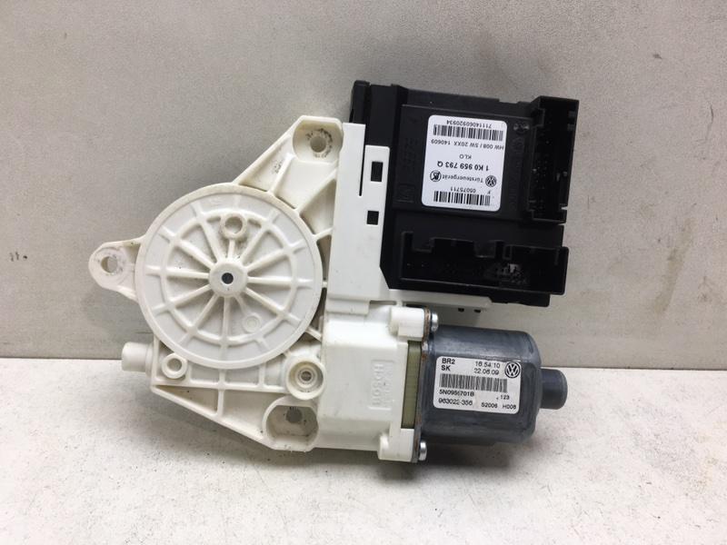 Мотор стеклоподъемника Volkswagen Tiguan 2.0 TDI передний левый (б/у)