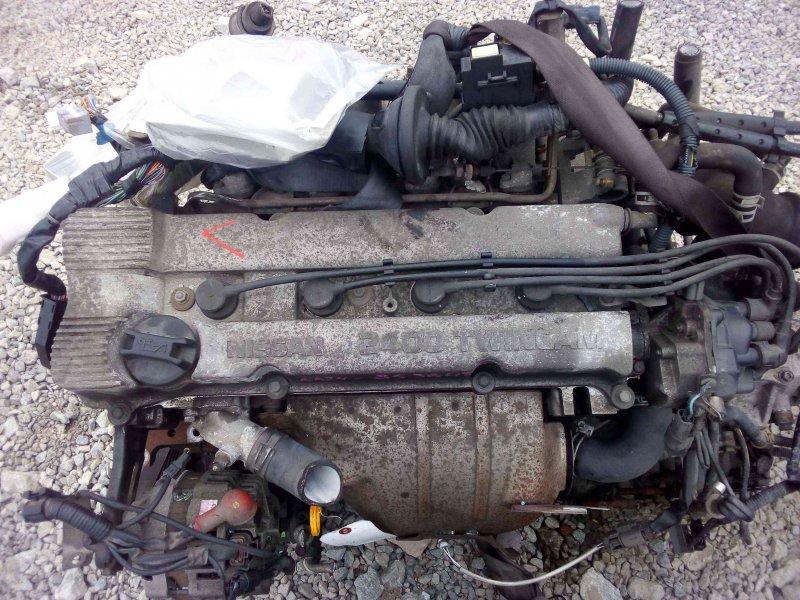 двигатель NISSAN RNESSA 853647X куз. N30 двг. KA24