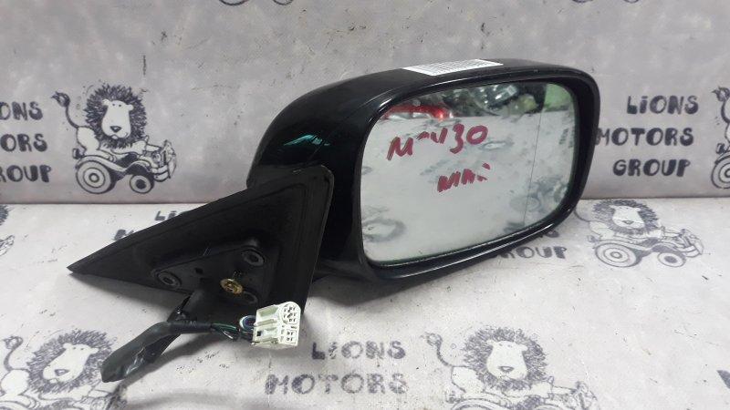 Зеркало черное TOYOTA WINDOM куз. MCV30  R