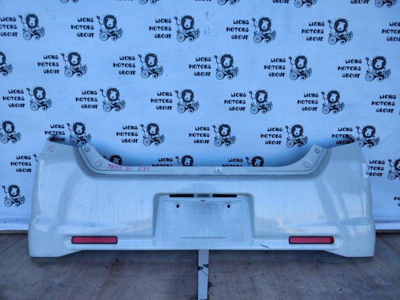 Бампер Suzuki Wagon R Stingray MH23S 2012 задний (б/у)