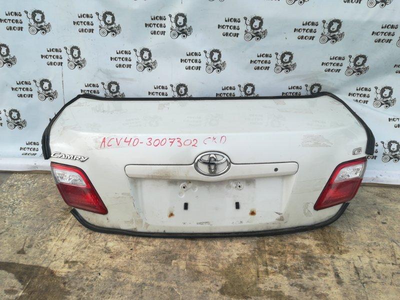 Крышка багажника Toyota Camry ACV40 2AZ-FE (б/у)