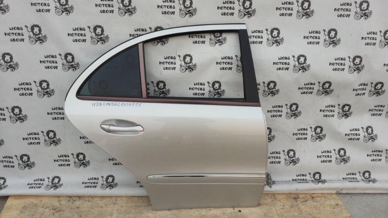 Дверь боковая Mercedes E-Class 211 272 2006 задняя правая (б/у)