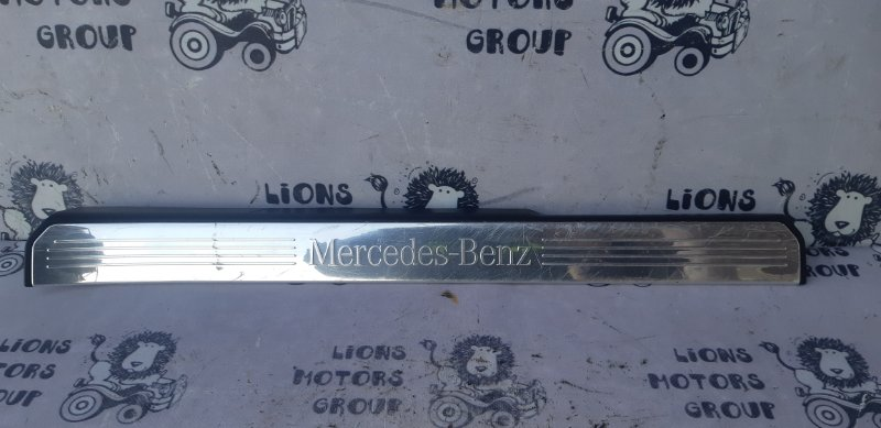 Накладка на порог Mercedes S-Class W221 передняя правая (б/у)