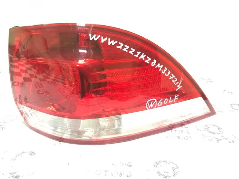 Стоп-сигнал Volkswagen Golf 1K1 BLG 2008 задний правый (б/у)