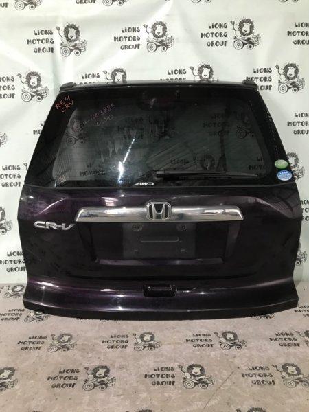 Дверь задняя Honda Crv RE4 задняя (б/у)
