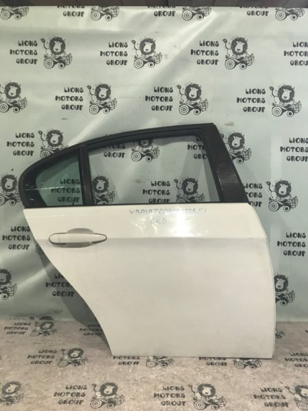 Дверь боковая Bmw 3-Series E90 N46 2005 задняя правая (б/у)