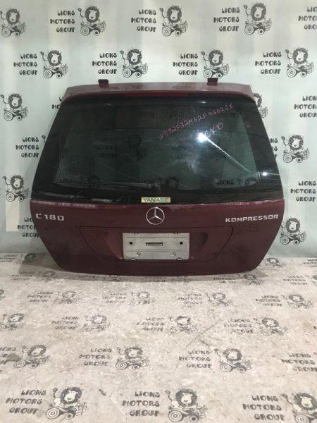 Дверь задняя Mercedes-Benz C-Class W203 задняя (б/у)