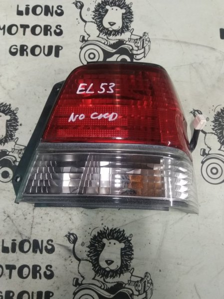 Стоп-сигнал Toyota Corsa EL53 5E-FE задний правый (б/у)