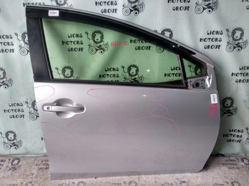 Дверь боковая Toyota Aqua NHP10 передняя правая (б/у)