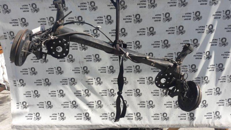 Балка подвески Toyota Aqua NHP10 задняя (б/у)