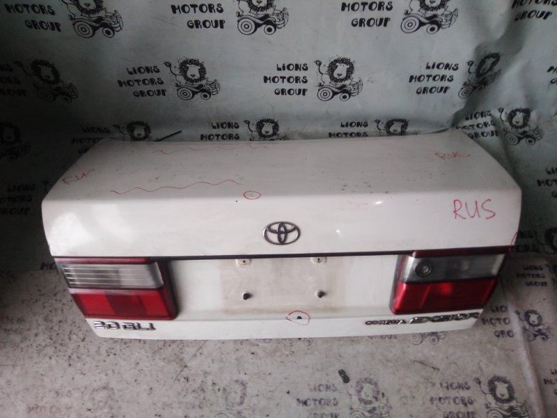 Крышка багажника Toyota Corona ST190 задняя (б/у)