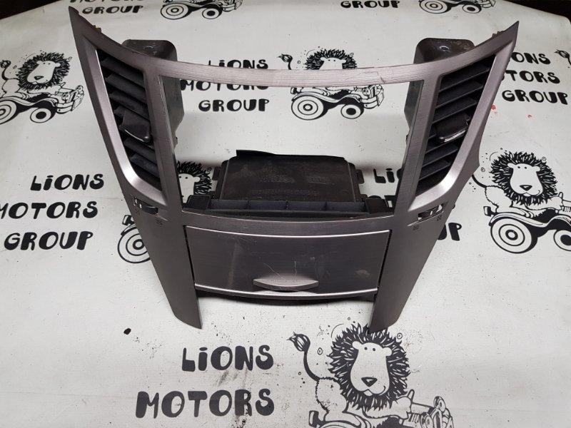Консоль магнитофона Subaru Legacy BR9 2010 (б/у)