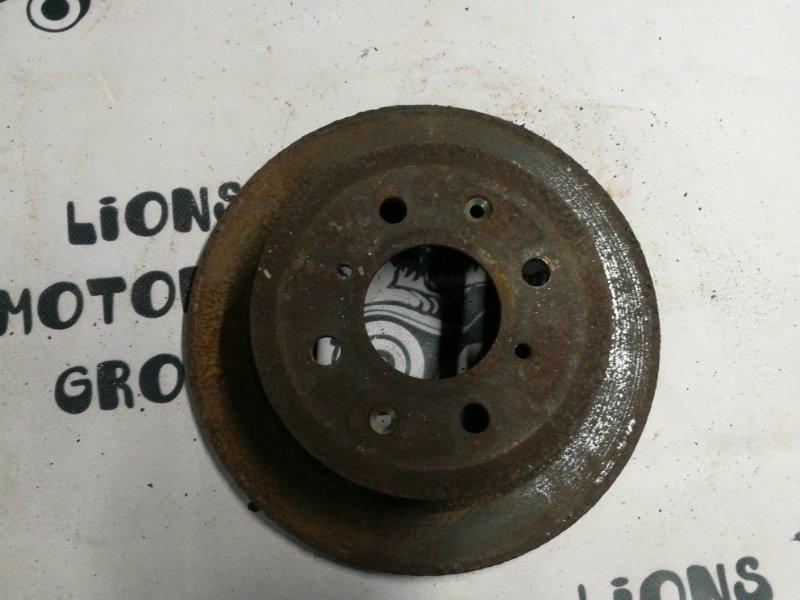 Тормозной диск Honda Fit GD1 задний (б/у)