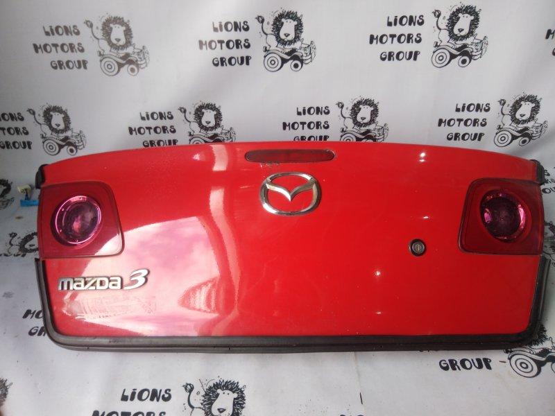 Крышка багажника Mazda 3 BK5P задняя (б/у)