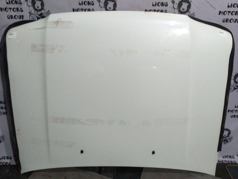 капот БЕЛЫЙ NISSAN TERRANO куз. JLR50 L 2000 двг. VG33