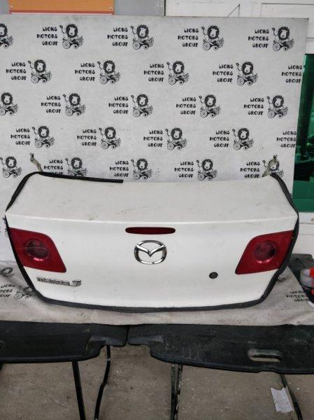 Крышка багажника Mazda 3 BK5P (б/у)