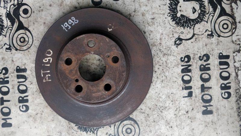 Тормозной диск Toyota Corona Premio ST210 3S-FE 2000 передний (б/у)