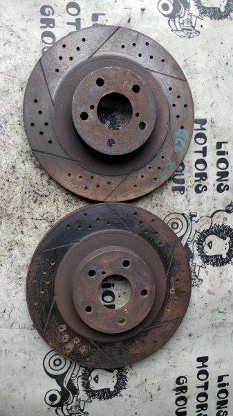 Тормозной диск Subaru Impreza GC8 EJ20 передний (б/у)