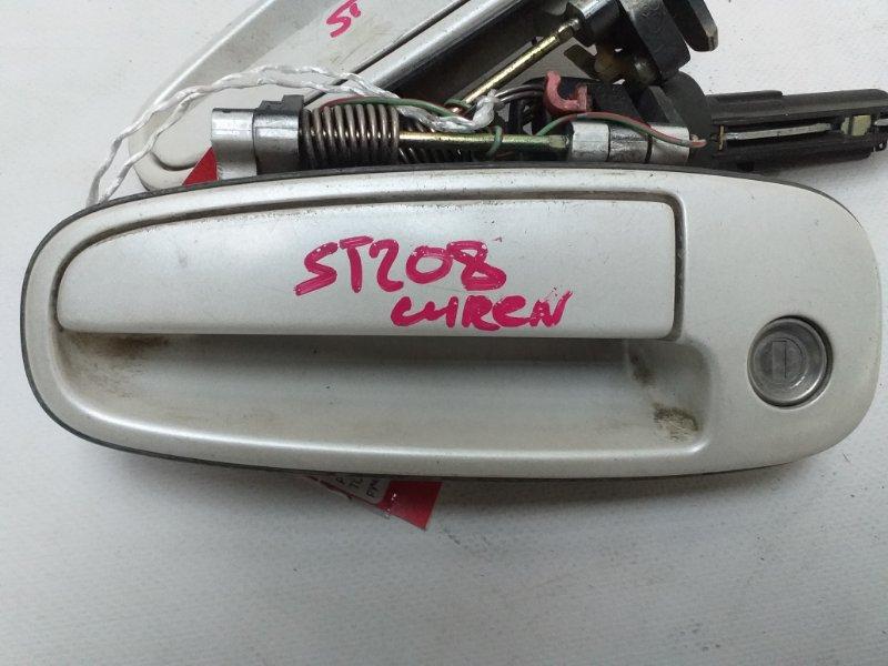 Ручка двери Toyota Curren ST208 передняя (б/у)