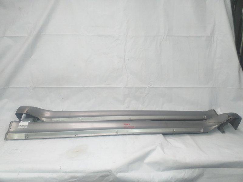 Порог кузова тёмно-серый MMC PAJERO куз. V75W