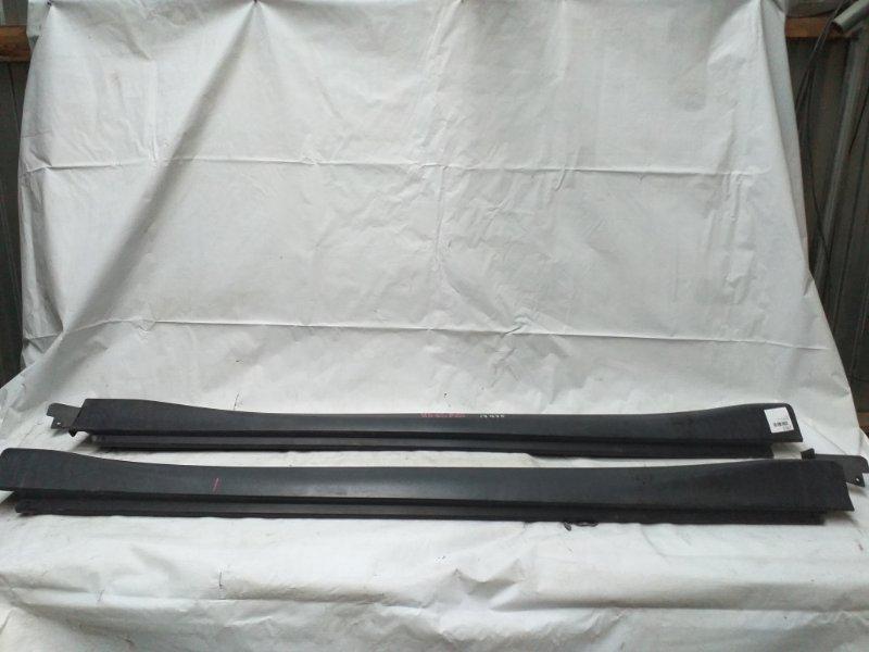 Порог кузова чёрный TOYOTA HARRIER куз. ACU30