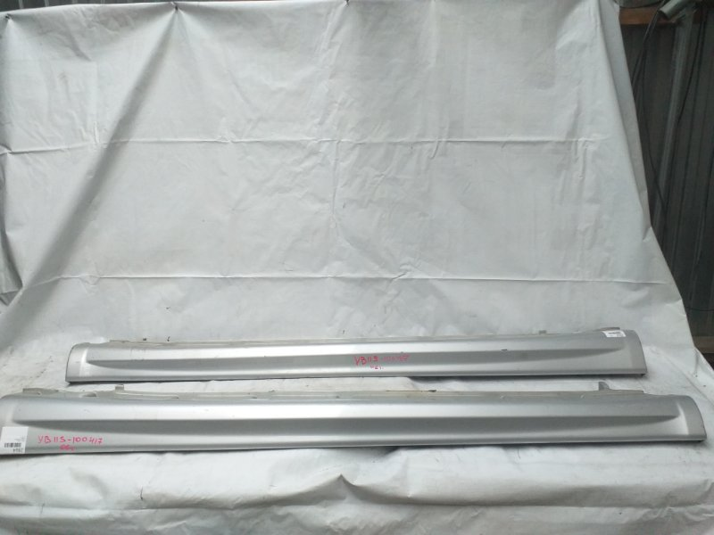 Порог кузова серебро  SUZUKI SX4 куз. YB11S