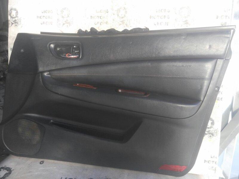 Обшивка дверей Mitsubishi Galant EA1A передняя правая (б/у)