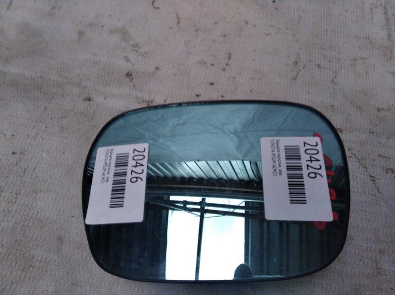 Зеркало-полотно Toyota Ipsum ACM21 левое (б/у)