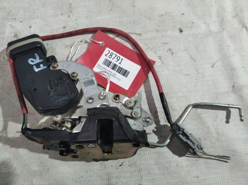 Замок двери Toyota Corona Premio ST210 передний правый (б/у)