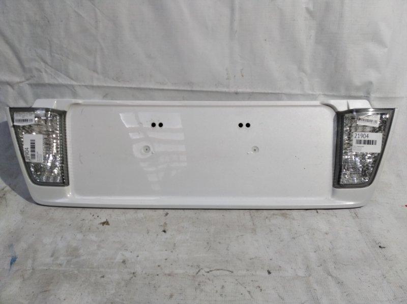 Стоп-планка Lexus Lx 570 задняя (б/у)
