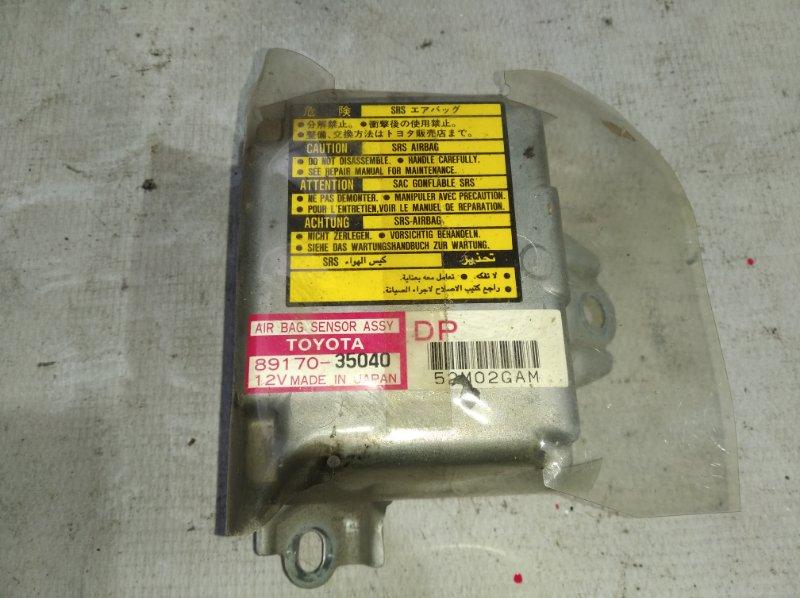 Блок управления airbag Toyota Land Cruiser Prado KZJ95 1KZ 1996 (б/у)