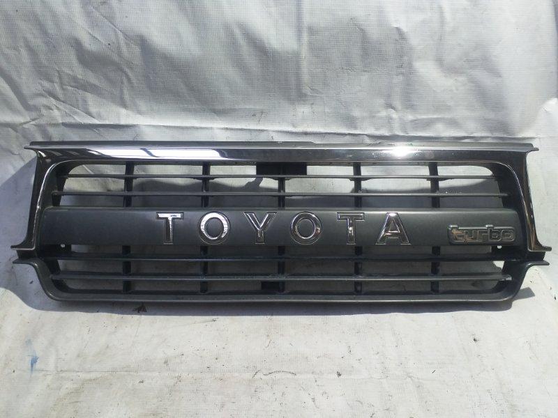 Решетка радиатора Toyota Land Cruiser HDJ81 1HD 1992 (б/у)