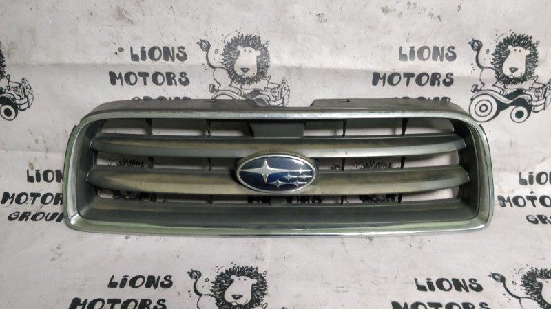 Решетка радиатора Subaru Forester SG5 EJ20 2003 (б/у)