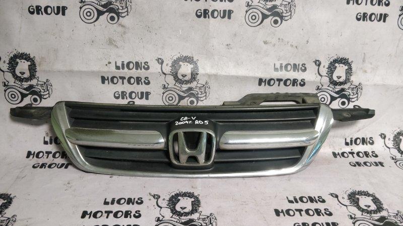 Решетка радиатора Honda Crv RD5 K20A 2004 (б/у)