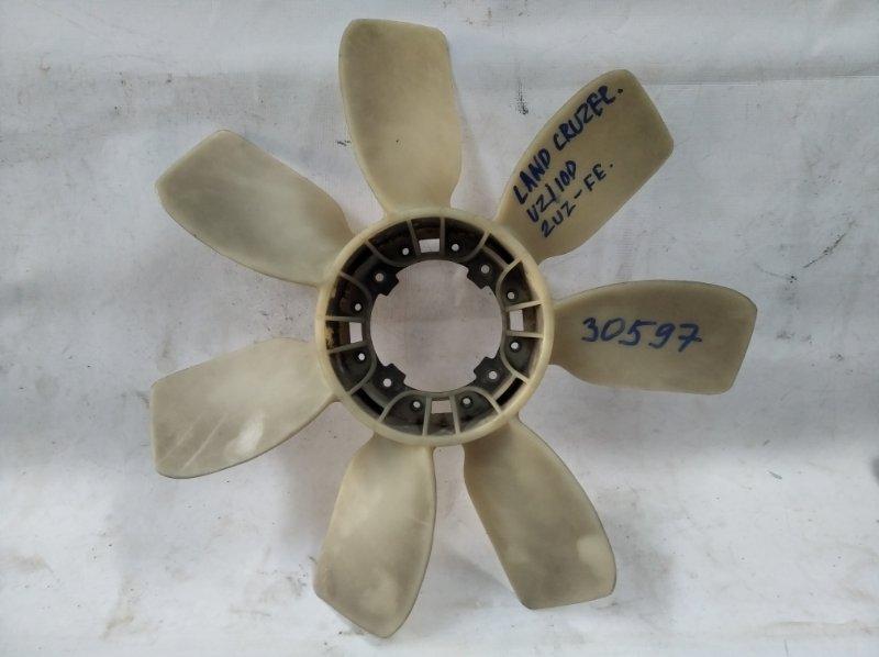 Вентилятор вискомуфты Toyota Land Cruiser UZJ100 2UZ-FE 1998 (б/у)