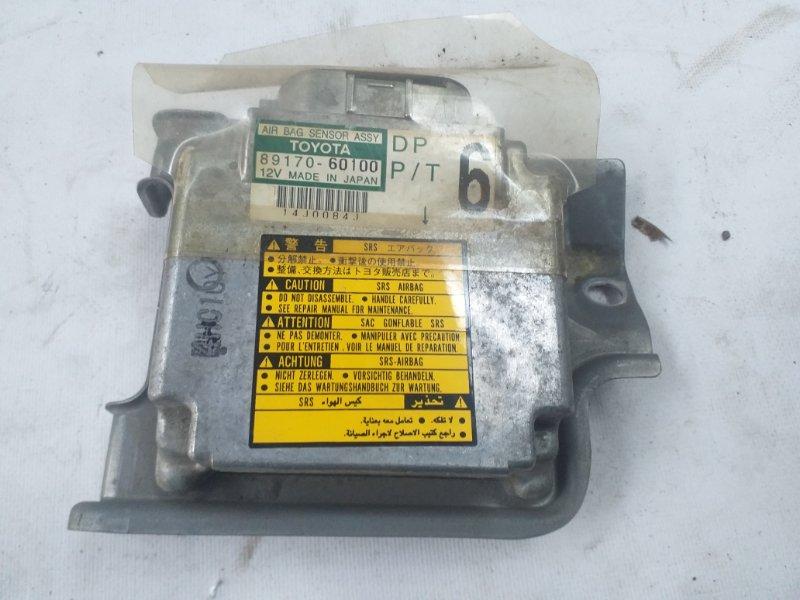 Блок управления airbag Toyota Land Cruiser UZJ100 2UZ-FE 1998 (б/у)