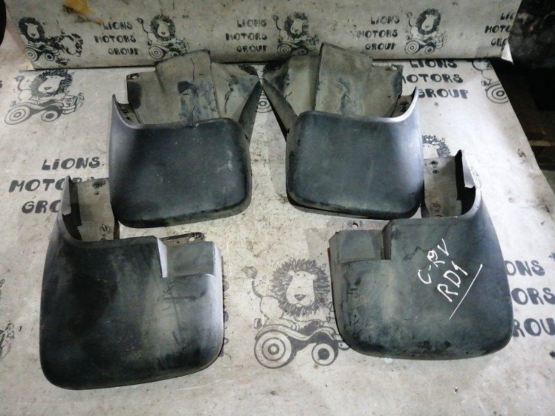 Брызговики комплект Honda Crv RD1 (б/у)