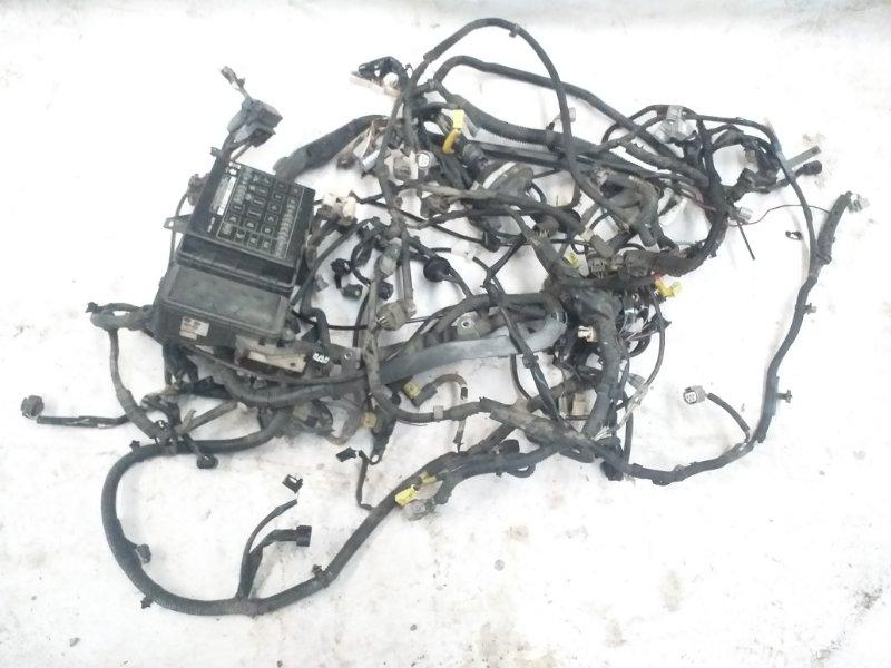 Электропроводка моторного отсека Toyota Land Cruiser UZJ100 2UZ-FE 1998 (б/у)