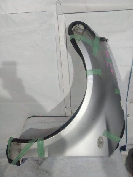 Крыло серебро SUZUKI SX4 куз. YB11S F L 2006 г