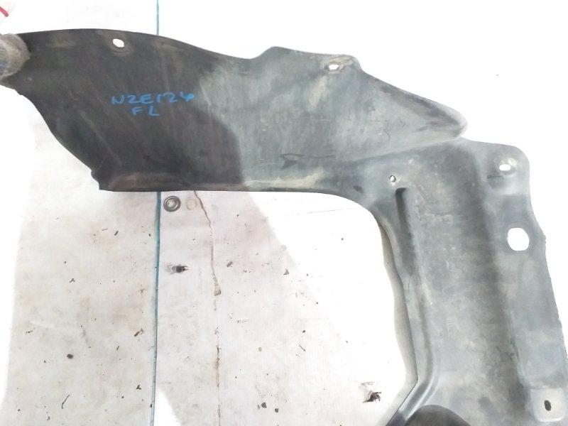 Защита радиатора Toyota Corolla Fielder NZE124 1NZ-FE 2002 передняя левая (б/у)