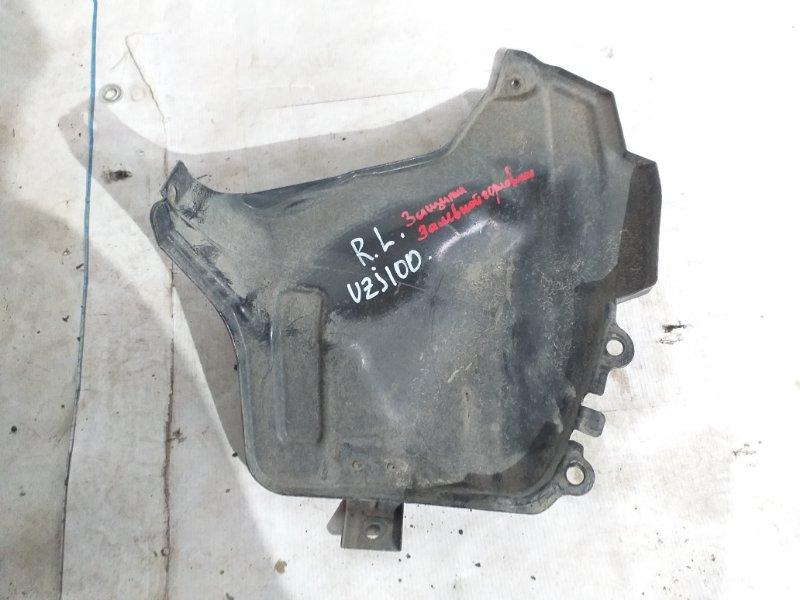 Защита горловины бензобака Toyota Land Cruiser UZJ100 2UZ-FE 1998 задняя левая (б/у)