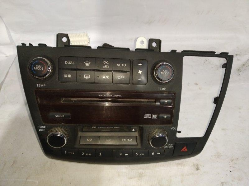 Блок управления климат-контролем Nissan Elgrand MNE51 VQ25 (б/у)