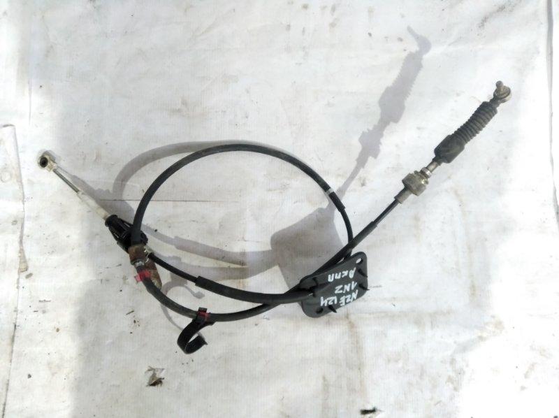 Трос переключения кпп Toyota Corolla Fielder NZE124 1NZ-FE (б/у)