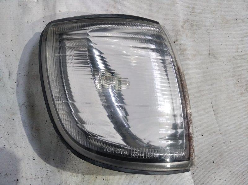 Поворотник к фаре Toyota Hilux Surf RZN185 3RZ-FE 2001.07 передний правый (б/у)