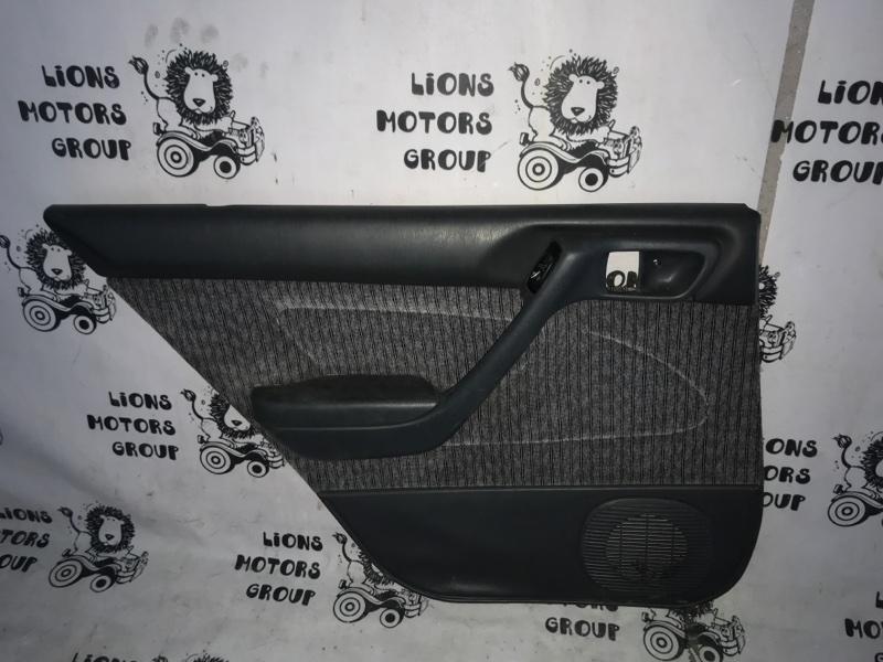 Обшивка дверей Toyota Corona ST190 задняя левая (б/у)